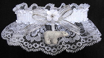 Cola Polar Bear Garter for Prom