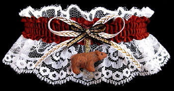 Grizzly Bear Garter for Prom