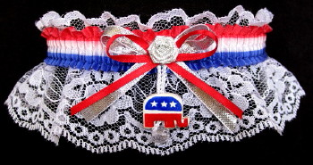 RNC Garter with Charm. garder, garders