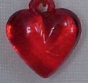 Red Heart Charm Close-up