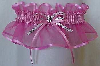 Wild Rose Sheer Bridal Garter - Wedding Garter - Prom Garter - Fashion Garter. garders, garder