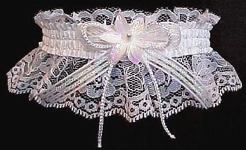 2d71ff902e Keepsake Wedding Garter Bridal Garter w/ Opal Cording Bow. garders, garder